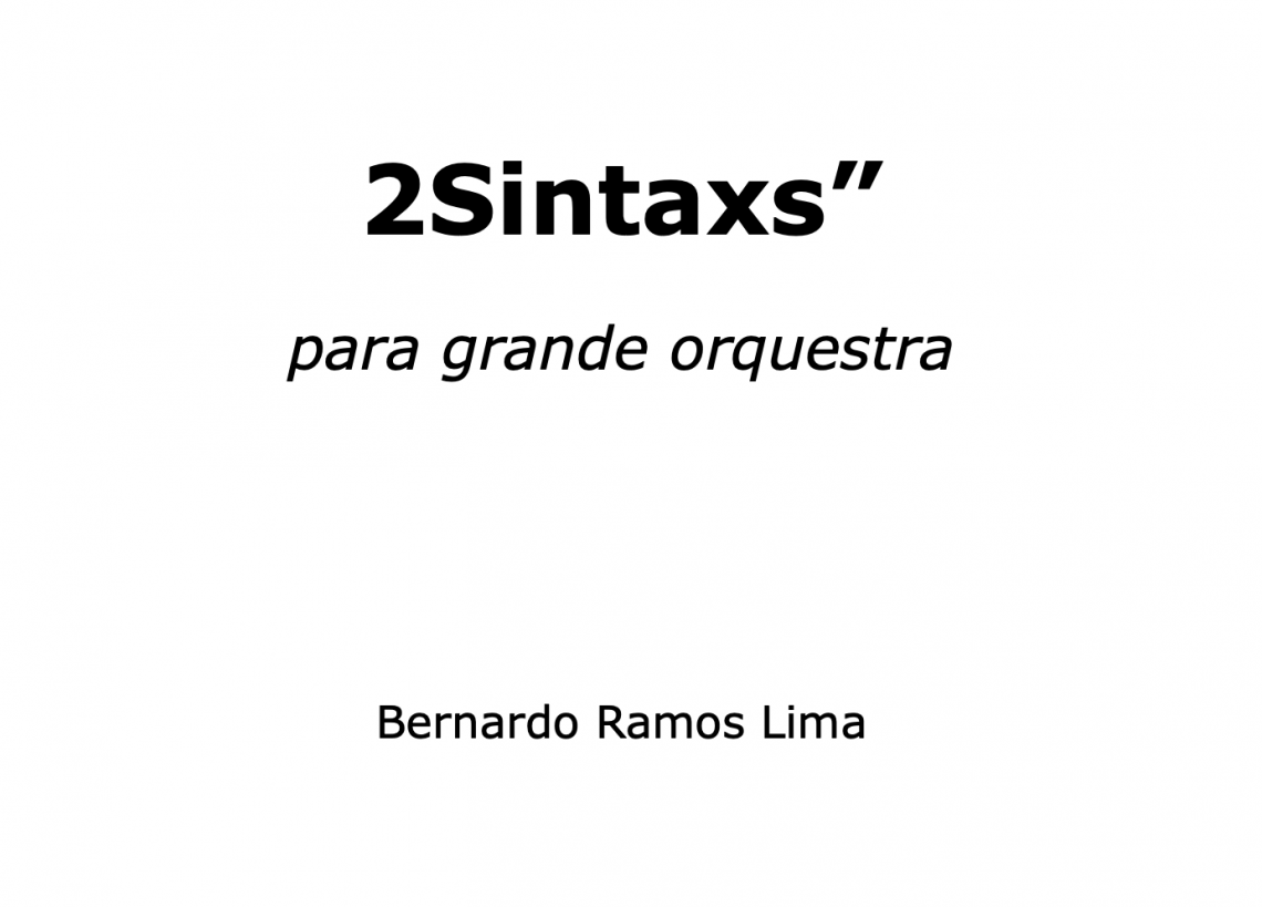 "2Sintaxs"""