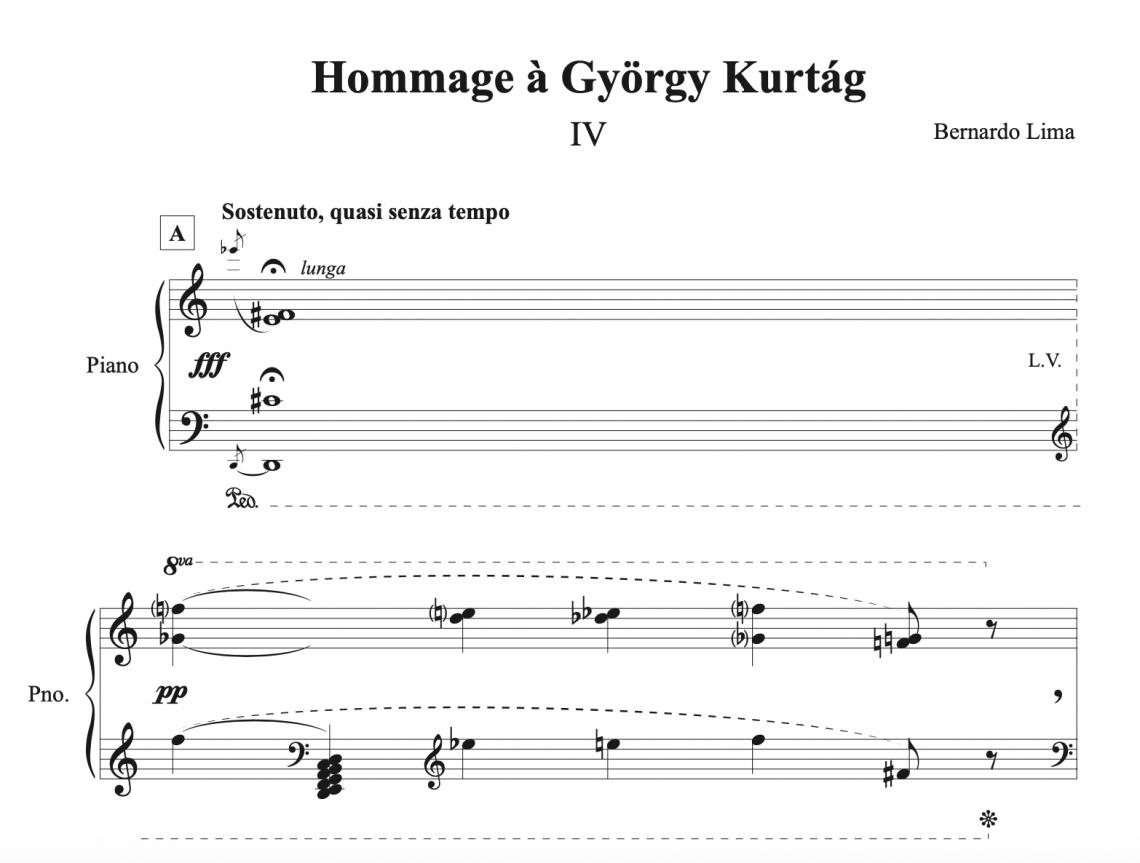 Hommage à György Kurtág