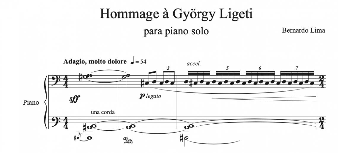 Hommage à György Ligeti