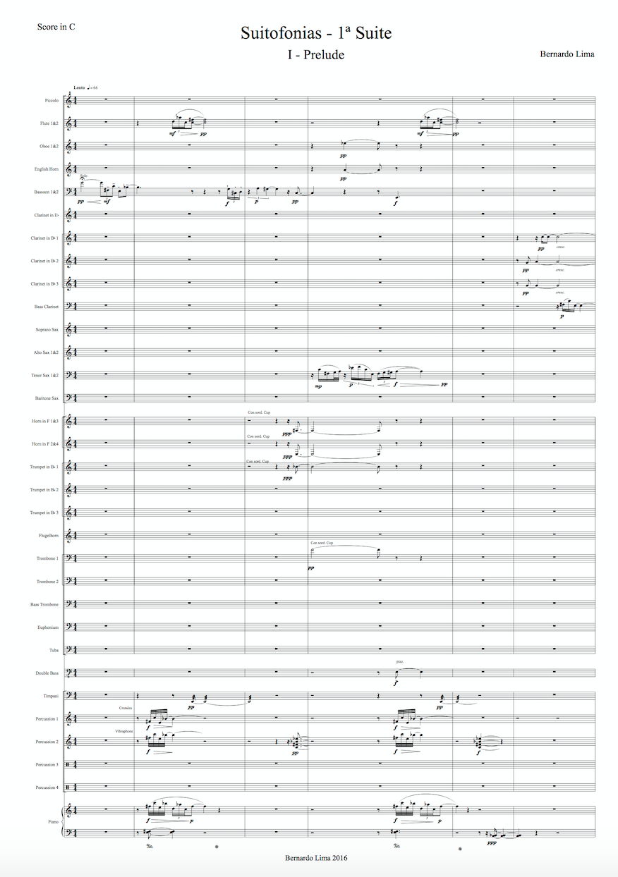 Suitofonias – 1ª Suite